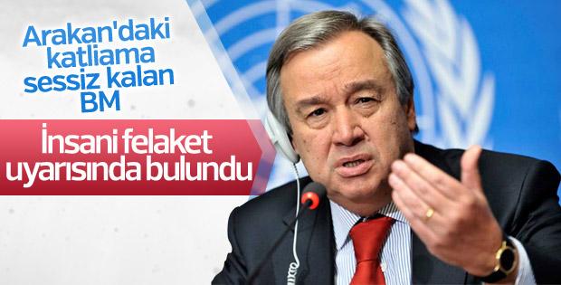Guterres Arakan için itidal çağrısı yaptı