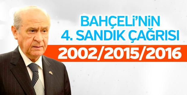 Bahçeli'nin erken seçim çağrıları, AK Parti'yi iktidar yapıyor
