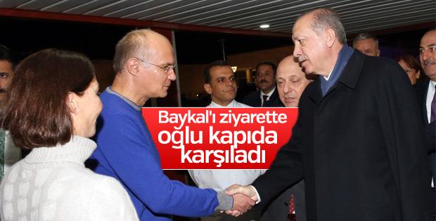 Cumhurbaşkanı, Baykal'ı ziyaret etti