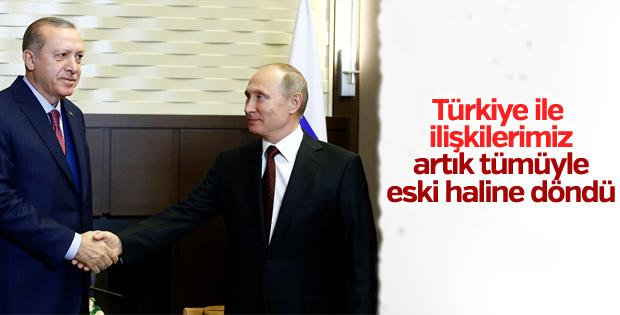 Erdoğan-Putin ortak açıklaması