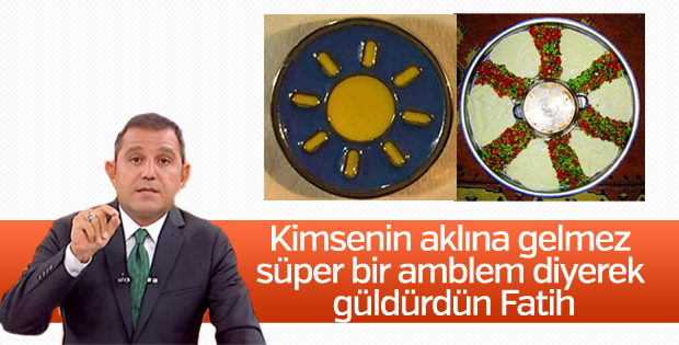 Fatih Portakal İyi Parti'sinin logosunu beğendi