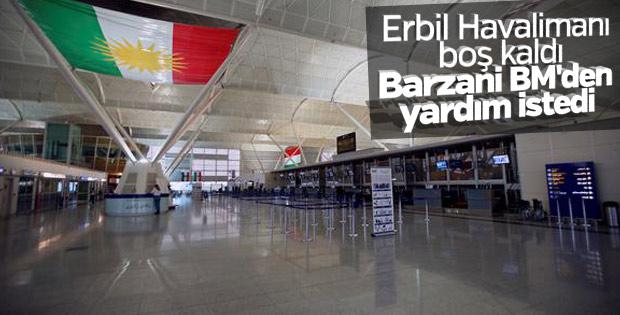 Erbil Havalimanı boş kaldı