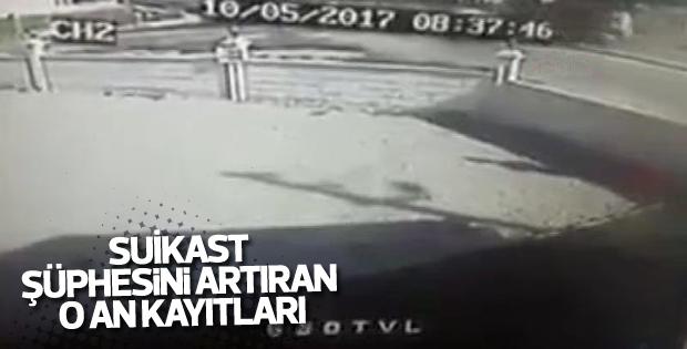 Başsavcı Mustafa Alper'in kaza görüntüleri