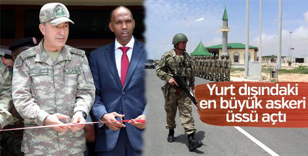 Somali'de Türk askeri eğitim kampı açıldı