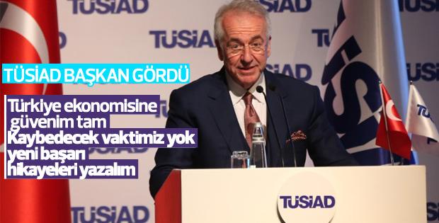 TÜSİAD Başkanı'ndan ekonominin geleceği için öneriler
