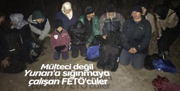 Yunanistan'a kaçmak isteyen 5 FETÖ'cü yakalandı
