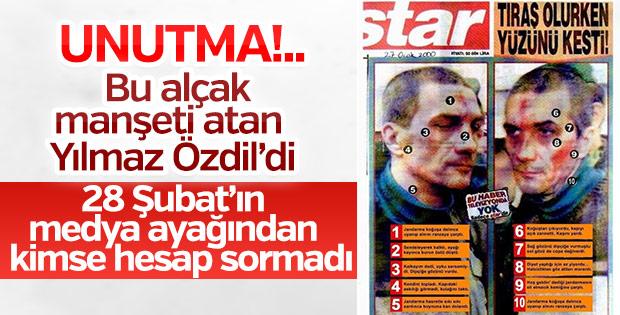 Salih Mirzabeyoğlu'na işkenceyi alkışlayan Yılmaz Özdil'di