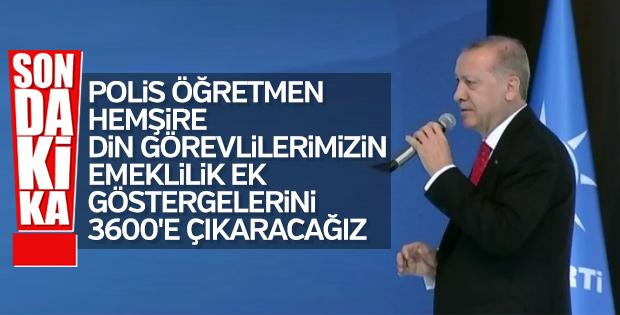 Erdoğan'dan ek gösterge müjdesi