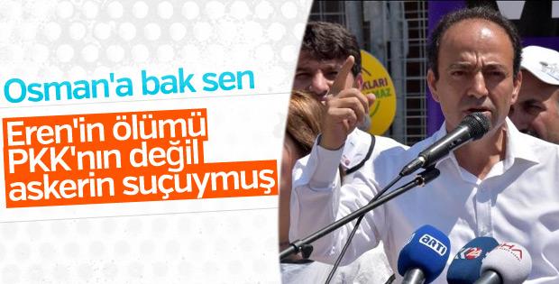 HDP'li Baydemir'den Eren Bülbül mesajı