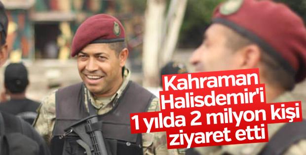 Ömer Halisdemir'i 2 milyon kişi ziyaret etti