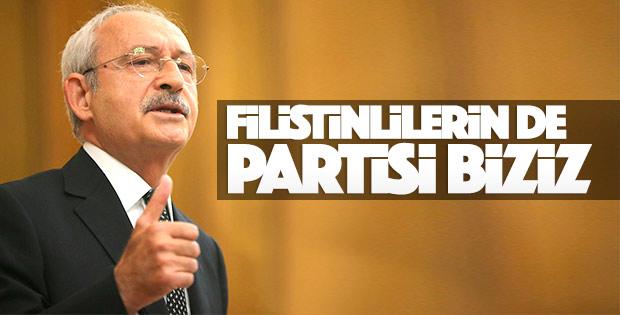 Kılıçdaroğlu'ndan Filistin mesajı