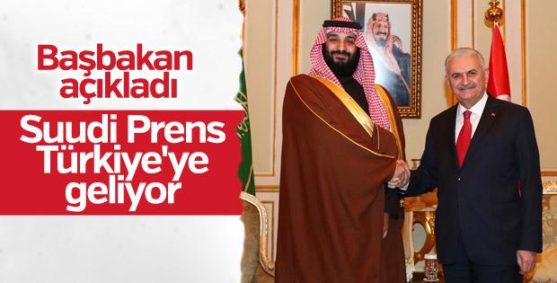 Başbakan'ın Suudi Arabistan temasları