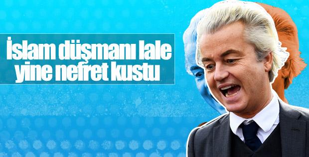 Irkçı lider Wilders'tan İslam karşıtı açıklama