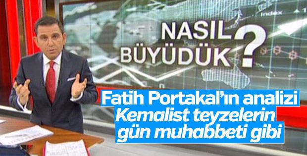 Fatih Portakal, ekonomideki büyümeyi değerlendirdi