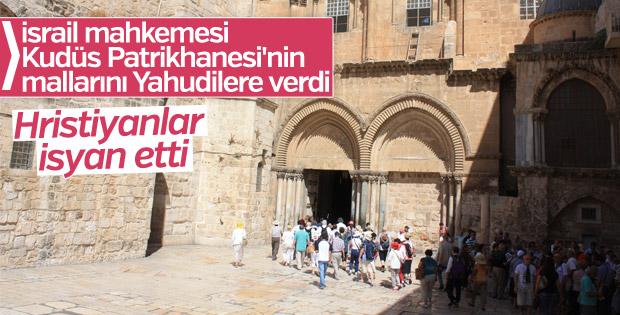 İsrail mahkemesinden Kudüs Patrikhanesi aleyhine karar