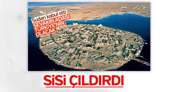 Sudan-Mısır arasında 'Sevakin Adası' krizi