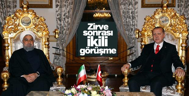 Erdoğan-Ruhani görüşmesi