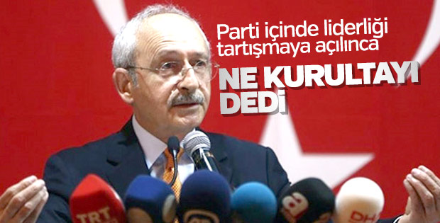 Kılıçdaroğlu'na parti içi tartışmalar soruldu