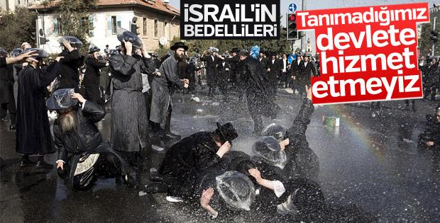 Ortodoks Yahudiler New York'ta İsrail'i protesto etti