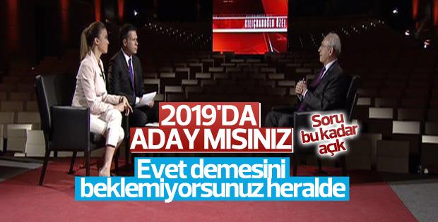 Kılıçdaroğlu'dan Cumhurbaşkanlığı adaylığı açıklaması