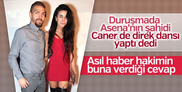 Caner Erkin ile Asena Atalay davasında gerginlik