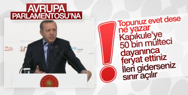 Erdoğan AP'nin skandal kararını değerlendirdi