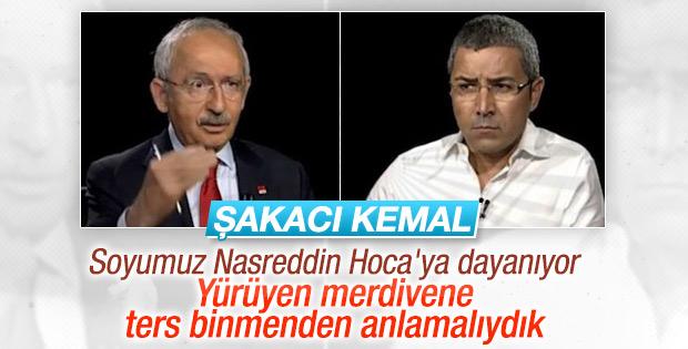 Kemal Kılıçdaroğlu: Soyumuz Nasreddin Hoca'ya dayanıyor