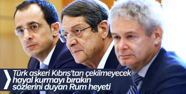 Bakan Çavuşoğlu: Rumlar rüyadan uyansın