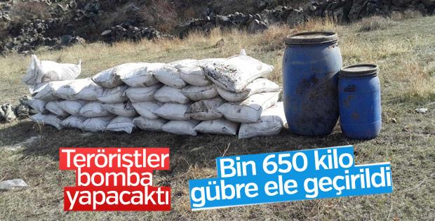 PKK'nın bombalı eylem planı çökertildi