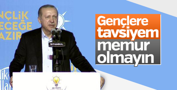 Erdoğan'dan gençlere tavsiyeler