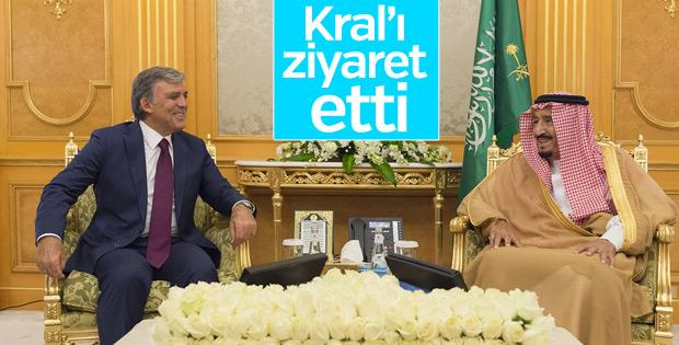Abdullah Gül Suudi Arabistan'da