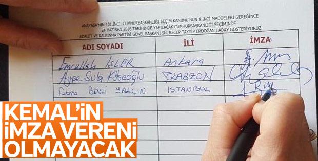 Erdoğan'ın adaylık dilekçesi hazırlandı