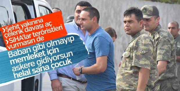 Kerem Kılıçdaroğlu askere gitti