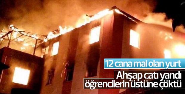 Adana'daki yangın faciasının izleri