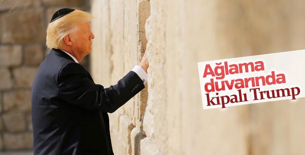 Trump Ağlama Duvarı'nda