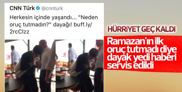 Bursa'da baba oğula oruç dayağı iddiası