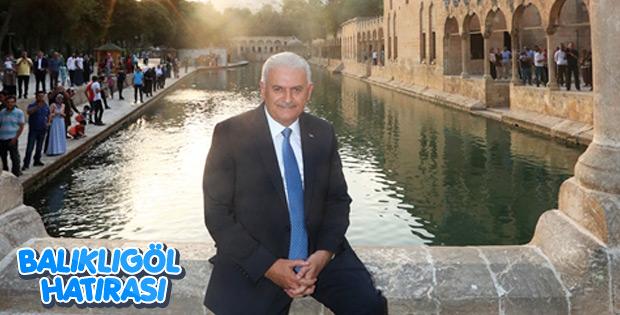 Başbakan Şanlıurfa'da