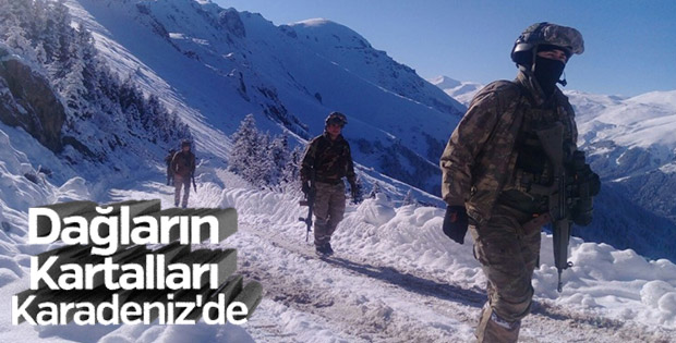 Doğu Karadeniz'de PKK'ya nefes yok