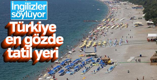İngiliz turistlerin tatil rotası Türkiye
