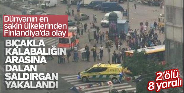 Finlandiya'da saldırı