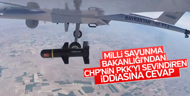 Milli Savunma Bakanlığı: SİHA'lar sivillere zarar vermedi