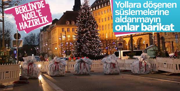Almanya'da her yer güvenlik bariyeri ile sarılıyor