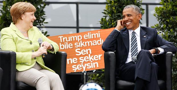 Berlin'de Merkel-Obama buluşması
