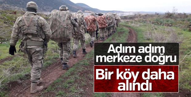 Afrin'in batısındaki köy teröristlerden temizlendi