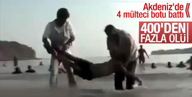 Akdeniz'de 400 Somalili göçmen boğuldu
