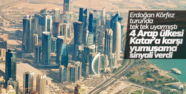Arap ülkelerinden Katar'a diyalog şartı