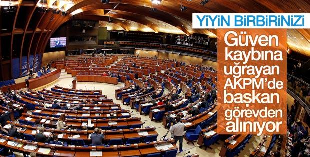 AKPM Başkanı'nın görevden alınması için işlem başlatıldı