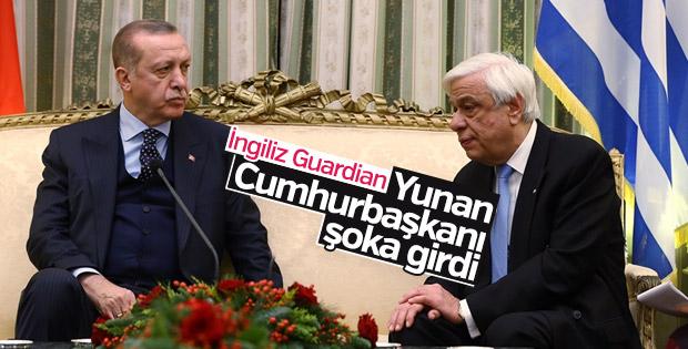 Erdoğan'ın Yunanistan ziyareti dış basının ilgi odağı