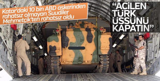 Körfez ülkelerinden Katar'a: Türkiye'nin üssünü kapatın