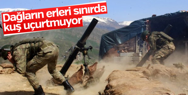 Mehmetçik sınırda teyakkuzda